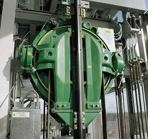 kone machine roomless elevator