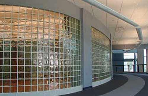 Glazed Cinder Blocks : Ce center