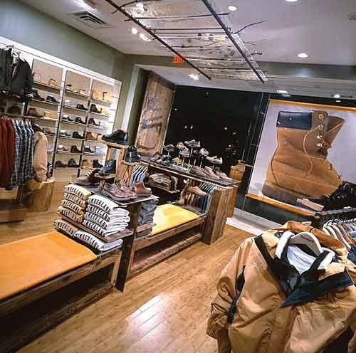 Timberland Canada Store