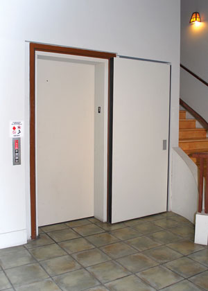 A Swing Door Mounted At An Elevator Opening And Held Open With Magnetic Hold Meets The Fire Smoke Parion Code Requirements But Can Be Susceptible