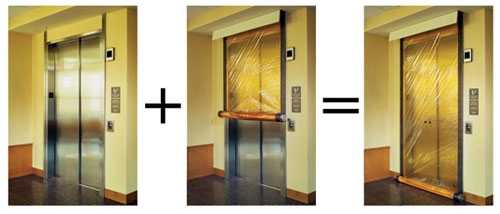 ... doors and the UL 1784-tested rolling magnetic gasketing system meets the IBC code requirement that prescribes an enclosed elevator lobby at the elevator ... & CE Center - Design Alternatives to the Enclosed Elevator Lobby: Fire ...