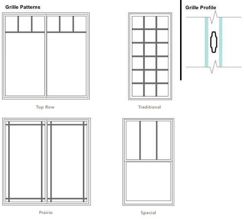 Decorating Window Grid Styles Inspiring Photos Gallery