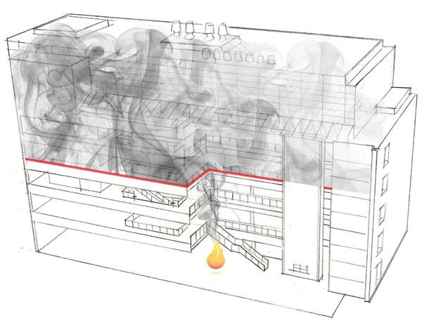 Ce Center Fire And Smoke Curtains Meeting Atrium Code