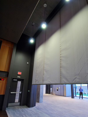 Premium Fire Protection Curtains May Be Rated Up To 2 Hr This Vertical System Is Available In Large Dimensionay Use Or Smoke Only