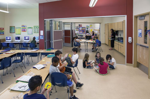 Elementary Classrooms Of The Future : Ce center first in their class innovative design solutions for