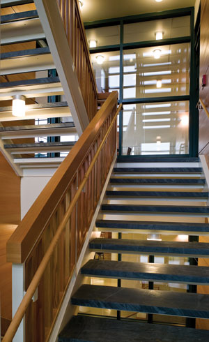 Ce Center Fire Rated Glass And Framing Deliver Design Goals