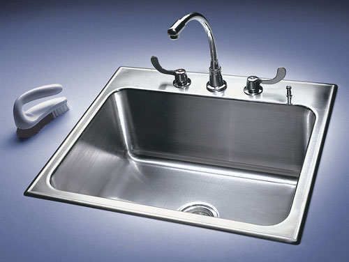 Ce Center Stainless Steel Sinks Show Their Metal