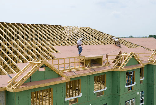 Ce center high performance wood framed roofs - Build wood roof abcs roof framing ...