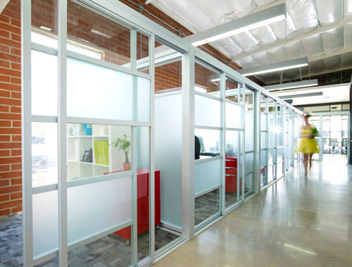 Image gallery interior storefront windows Interior glass partition systems