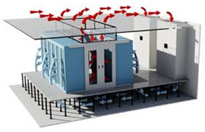 Ce Center Passive Cooling In Data Centers