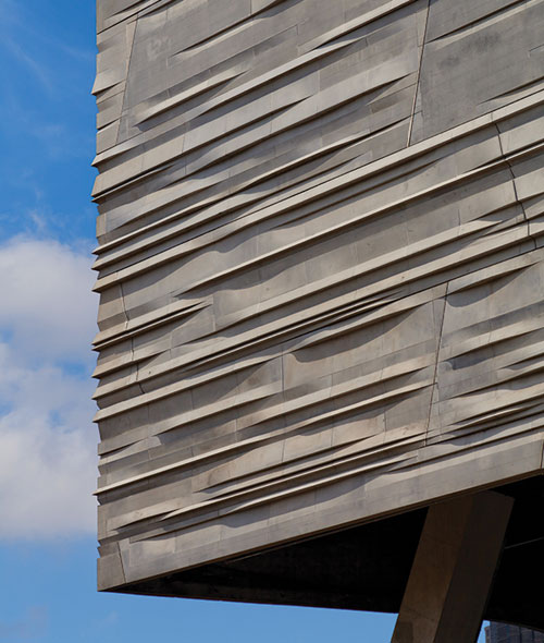 Ce center style and sustainability of precast concrete for Sustainable exterior cladding materials