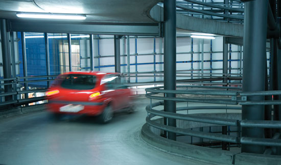 Elastomeric Membrane Parking : Ce center