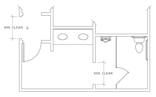 ada compliant bathroom dimensions. image courtesy of the asi group adapted from 2010 ada standard ada compliant bathroom dimensions