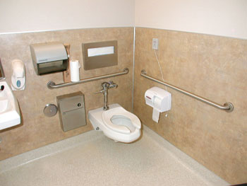 Non Ada Bathroom ce center -