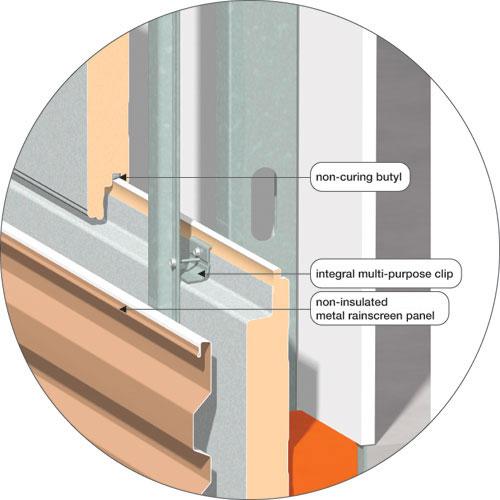 Insulated Aluminum Composite Panel : Ce center insulated composite backup panels