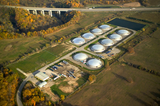 An overview of the aluminum covers for wastewater treatment at Halton Region, Ontario, Canada.