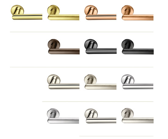 Door hardware is available in a range of metal colors and finishes.  sc 1 st  CE Center - BNP Media & CE Center - Aesthetically Designed Architectural Door Openings