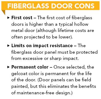 Bnp media for Fiberglass doors pros and cons