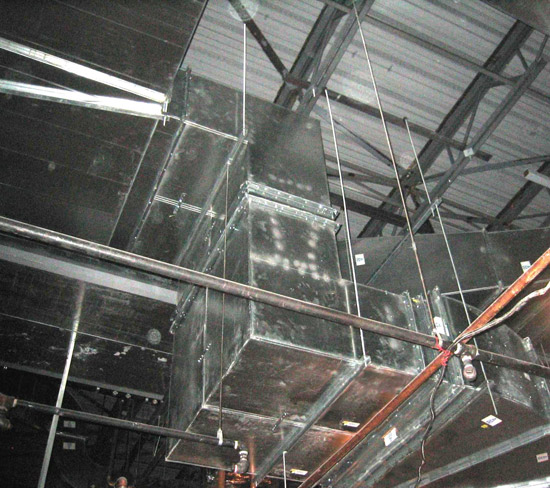 Ce Center Noise Reduction In Hvac Duct Systems