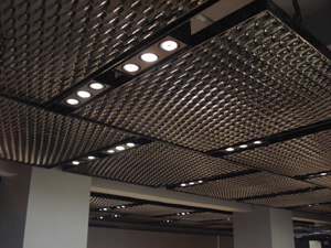 CE Center Expanded Metal Mesh in Architecture