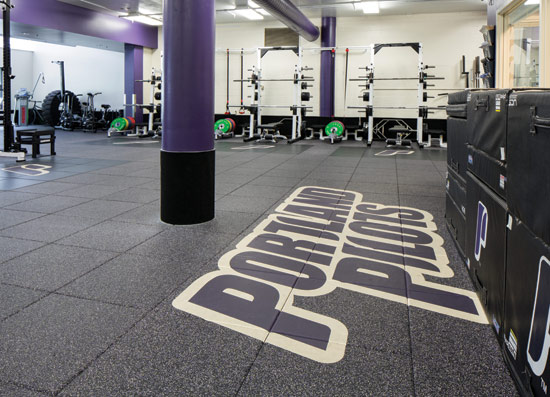 Ce Center Rubber Flooring For Athletic Facilities