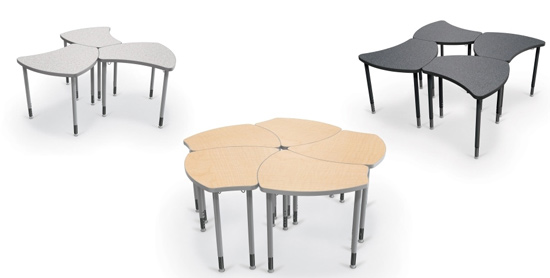 Perfect Flexible Desk Configuration Is Key To Encouraging Collaboration. Here Are  Some Desk Layout Scenarios. Good Looking