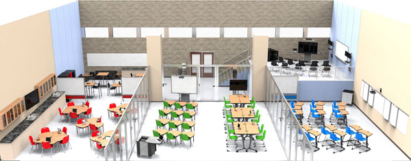 Modern Classroom Arrangement ~ Ce center designing schools for a modern learning