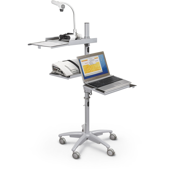 A Mobile Workstation Allows A Teacher To Teach Effectively Throughout The  Classroom, Including One