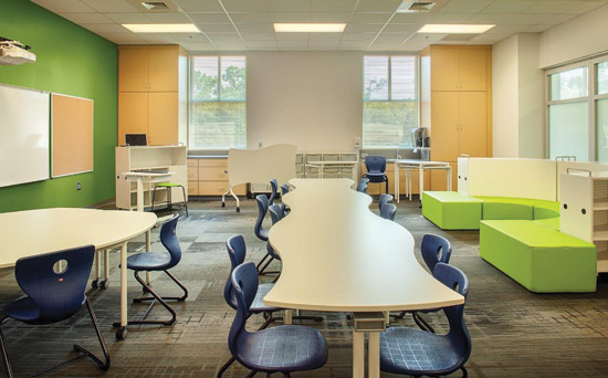 Collaborative Learning Classroom Furniture ~ Ce center school standards and designs advance