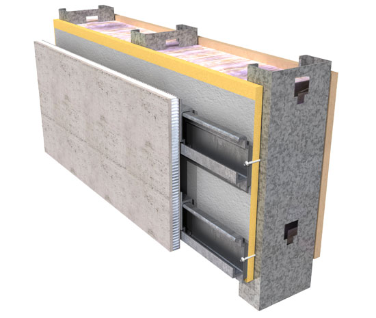 Installation systems for panels may vary and should be coordinated with manufacturers to be sure that field quality control is maintained.