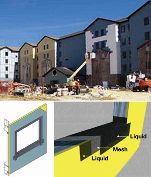 Combination Air and Water-Resistive Barriers  in Exterior Walls