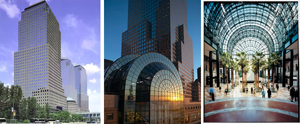 The Towers Of The World Financial Center/Brookfield Place And The Centrally  Located Winter Garden