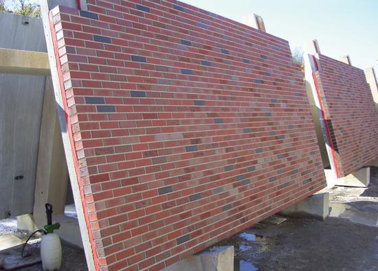 Ce center for Precast concrete exterior wall panels