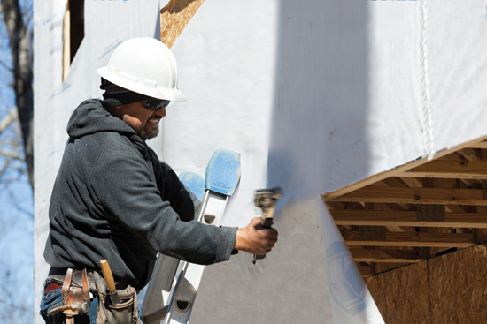 Many in the building community rely on house wraps, or weather-resistant barriers (WRB), to prevent moisture entry into the wall cavity.
