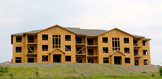When structural panels such as plywood or oriented strand board (OSB) are properly attached to lumber floor, roof and wall framing, they form diaphragms and shear walls that are exceptional at resisting seismic forces.
