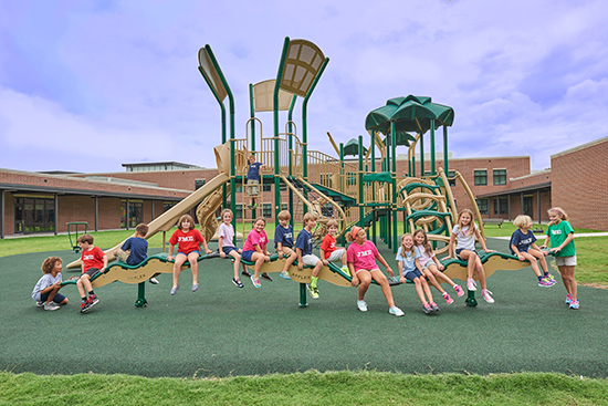 Architects and designers can play a major role in creating inclusive playgrounds that contribute to the positive sensory development of all children.