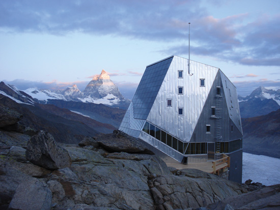 The Monte Rosa Hut in Switzerland is an excellent example of the ongoing evolution in the design and construction process. An integrated team used modularized design, sustainability, and building information modeling to achieve outstanding results.