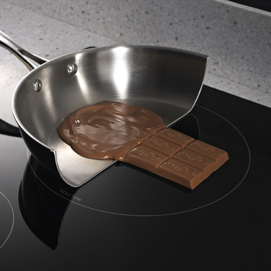 Electric induction cooking not only uses less energy than conventional cooktops, it is inherently safer since pans heat up while cooktops do not.