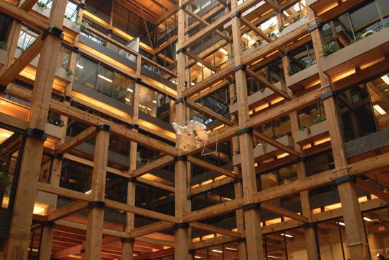 Building interior: Preservation Alliance of Minnesota