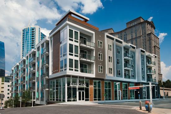 Crescent Terminus, Atlanta, Ga. Architect: Lord Aeck Sargent
