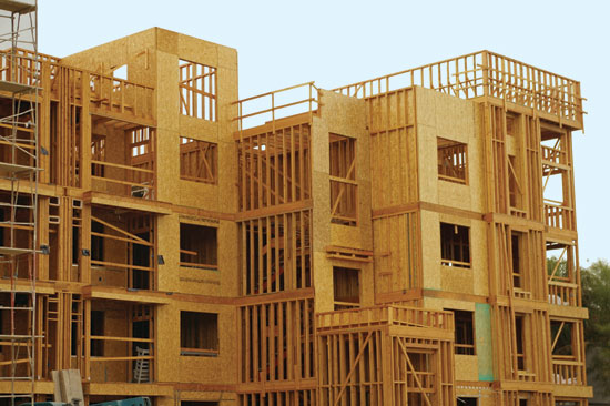 Wood is a proven choice for wind-resistive construction
