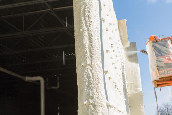 Ce Center Continuous Insulation Spray Foam Compared To