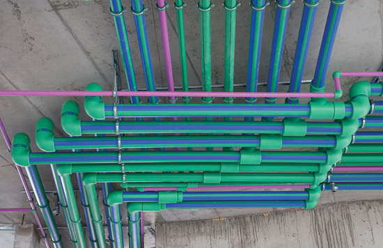 Ce center polypropylene random pp r piping systems