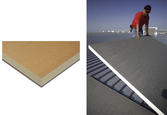 Polyisocyanurate Insulation Boards Provide High R Value Thermal Resistance  In Roof And Wall Construction In