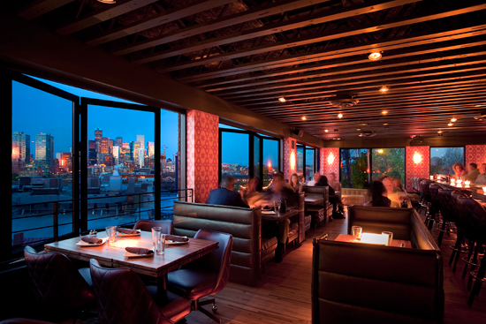 At Denver's Linger Restaurant, a folding fenestration system enables diners to enjoy compelling views along with farm to table cuisine.