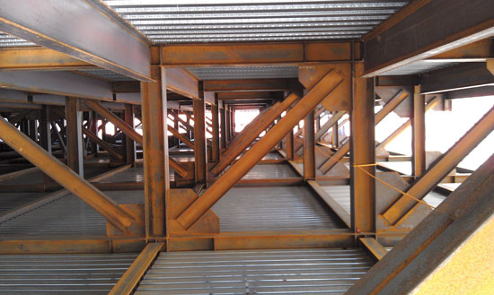 Structural Steel Framing : Ce center weight watching adaptive reuse with