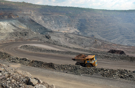 Opportunities for lessening the impacts of open pit mining include reducing the size of the mining area, minimizing waste, helping to maintain biodiversity by transplanting or culturing endangered plants found on-site, and planning mines around existing infrastructure.<sup>11</sup>