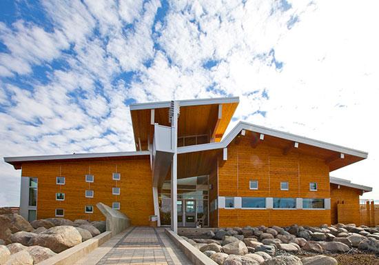 Red Cedar School ~ Ce center western red cedar life cycle sustainability