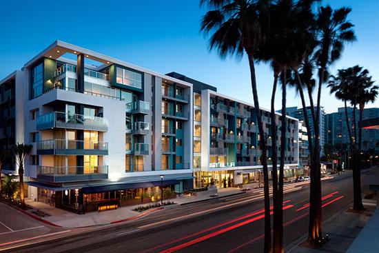 The Stella luxury development in Marina del Rey