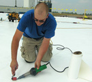 Labor Shortage Solution Specifying a Factory-Made Roofing Membrane
